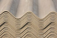 Roofing sheets for an agricultural shed<br /> &copy;Tim Scrivener Photographer 07850 303986<br />      ....Covering Agriculture In The UK....