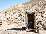 Outhouse, Historic mining park, Tonopah, Nev.