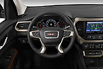 Car pictures of steering wheel view of a 2020 GMC Acadia Denali 5 Door SUV Steering Wheel