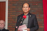 CPGB ML October Revolution Celebration 2016<br /> Lao People's Democratic Republic Ambassador Sayakane Sisouvong