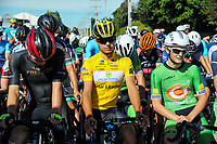 Robert Stannard (centre). Stage five of the 2018 NZ Cycle Classic UCI Oceania Tour (Masterton criterium) in Masterton, New Zealand on Friday, 21 January 2018. Photo: Dave Lintott / lintottphoto.co.nz