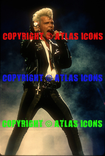 Billy Idol; 1990<br /> Photo Credit: Eddie Malluk/Atlas Icons.com