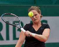 Paris, France, 01 June, 2016, Tennis, Roland Garros, Womans Wheelchair tennis, Aniek van Koot (NED)<br /> Photo: Henk Koster/tennisimages.com