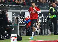 Aymen Barkok (Eintracht Frankfurt) wird eingewechselt - 26.01.2018: Eintracht Frankfurt vs. Borussia Moenchengladbach, Commerzbank Arena