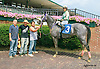 Silk n' Sequins winning at Delaware Park on 8/31/15
