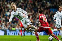 Luka Modric foul