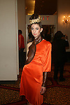 Model in Tyrell Mason-Couture Fashion Week Fall 2013 Collections  Day 3, The New Yorker Grand Ballroom, NY 2/17/13