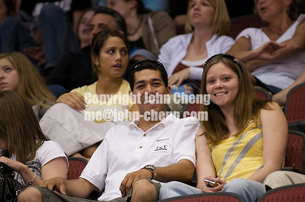 06/07/08 - Women's VISA Championships Agganis Areana in Boston Univeristy.  Sr Women Finals.Fans