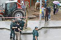 Fecha: 22-08-2015.-  Triacastela corrida de toros abolición toros