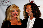 September 11, 2009:  Loni Anderson and Kenny G at the 'Rhythm on the Vine' charity dinner to benefit Shriners Children Hospital held at  the South Coast Winery in Temecula, California..Photo by Nina Prommer/Milestone Photo