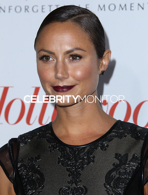 WEST HOLLYWOOD, CA - SEPTEMBER 19: Stacy Keibler arrives at The Hollywood Reporter's 2013 Emmy Party held at Soho House on September 19, 2013 in West Hollywood, California. (Photo by Xavier Collin/Celebrity Monitor)