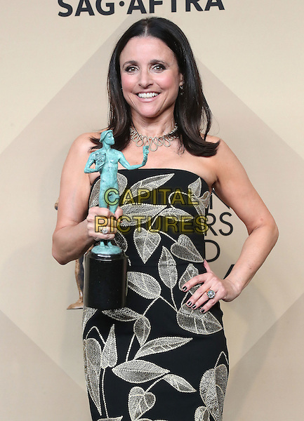 29 January 2017 - Los Angeles, California - Julia Louis-Dreyfus. 23rd Annual Screen Actors Guild Awards held at The Shrine Expo Hall. <br /> CAP/ADM/FS<br /> &copy;FS/ADM/Capital Pictures