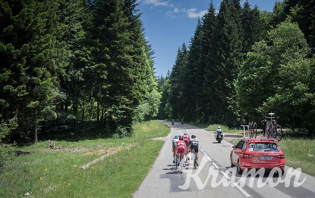 race leaders<br /> <br /> Stage 6: Le parc des oiseaux/Villars-Les-Dombes &rsaquo; La Motte-Servolex (147km)<br /> 69th Crit&eacute;rium du Dauphin&eacute; 2017