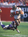 Tampa Bay Buccaneers, Mike Alstott (40) during a game against the Minnesota Vikings on October 29, 2000  at the Raymond James Stadium in Tampa, Florida. The Buccaneers beat the VIkings 41-13. Mike Alstott played for 11 years all with the Buccaneers and was a 6-time Pro-Bowler.