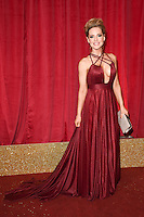 Stephanie Waring<br /> arrives for the British Soap Awards 2016 at Hackney Empire, London.<br /> <br /> <br /> &copy;Ash Knotek  D3124  28/05/2016