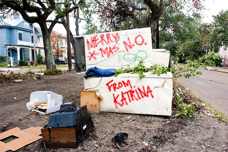 New Orleans, December 8, 2005.