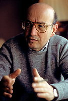 Montreal (Qc) CANADA - March 9,1989 EXCLUSIVE File Photo -<br /> <br /> Theo Angelopoulos interview