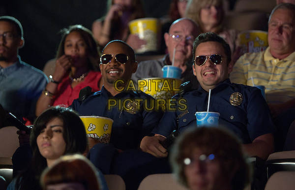 Damon Wayans, Jr., Jake Johnson<br /> in Let's Be Cops (2014) <br /> *Filmstill - Editorial Use Only*<br /> CAP/FB<br /> Image supplied by Capital Pictures
