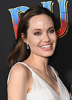 11 March 2019 - Hollywood, California - Angelina Jolie. &quot;Dumbo&quot; Los Angeles Premiere held at Ray Dolby Ballroom. Photo <br /> CAP/ADM/BT<br /> &copy;BT/ADM/Capital Pictures