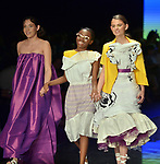 MIAMI, FL - JUNE 01: DASH Student Fashion designer walks the runway during the Miami Fashion Week from the Design and Architecture Senior High (school) at Ice Palace Film Studios on June 01, 2019 in Miami, Florida. ( Photo by Johnny Louis / jlnphotography.com )