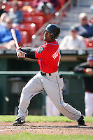 April 25, 2009:  Cory Patterson of the Syracuse Chiefs, International League Class-AAA affiliate of the Washington Nationals, during a game at the Coca-Cola Field in Buffalo, NY.  Photo by:  Mike Janes/Four Seam Images