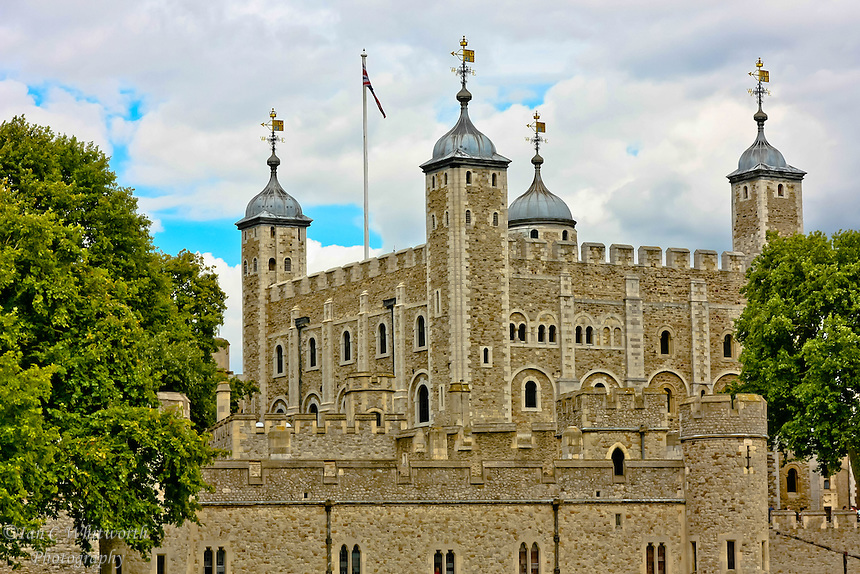 A view of historical London Tower