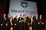 Actress Linda Dano (Another World and all ABC Soaps) presented The Linda Dano Heart Award to Tony Danza, stage, screen and TV star, producer, singer, author and teacher at HeartShare Human Services of New York 2012 as it held its Spring Gala & Auction on March 22, 2012 at the New York Marriott Marquis, New York City, New York. (Photo by Sue Coflin/Max Photos)