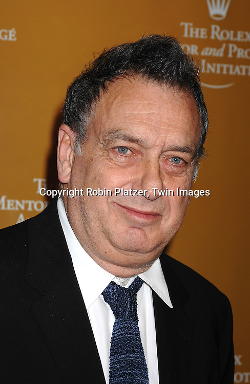 Stephen Frears..arriving at The Rolex Mentor and Protege Art's Initiative Event on November 12, 2007 at The State Theatre in Lincoln Center in New York. ..Robin Platzer, Twin Images....212-935-0770