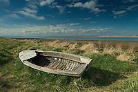 Wooden Boat at Aberlady Bay, Aberlady, East Lothian