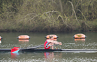 Caversham. Berkshire. UK<br /> Women's Lightweight Single Sculls, Mary WILSON. sculling during 2016 GBRowing U23 Trials at the GBRowing Training base near Reading, Berkshire.<br /> <br /> Monday  11/04/2016 <br /> <br /> [Mandatory Credit; Peter SPURRIER/Intersport-images]