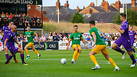 Preston North End's Billy Bodin plays a ball for Alan Browne<br /> <br /> Photographer Alex Dodd/CameraSport<br /> <br /> Football Pre-Season Friendly - Chorley v Preston North End - Tuesday July 16th 2019  - Victory Park - Chorley<br /> <br /> World Copyright © 2019 CameraSport. All rights reserved. 43 Linden Ave. Countesthorpe. Leicester. England. LE8 5PG - Tel: +44 (0) 116 277 4147 - admin@camerasport.com - www.camerasport.com