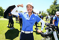 Grace Kim of Australia wins the Annika Invitational Golf Tournament at  Royal Wellington Golf Course, Wellington, New Zealand. Sunday 16 December 2018. Photo: Simon Watts/www.bwmedia.co.nz