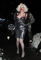 NEW YORK, NY - JANUARY 11: Amanda Lepore arriving at the IFC Films premiere of Freak Show at the Landmark Sunshine Cinema in New York City on January 10, 2018. Credit: RW/MediaPunch