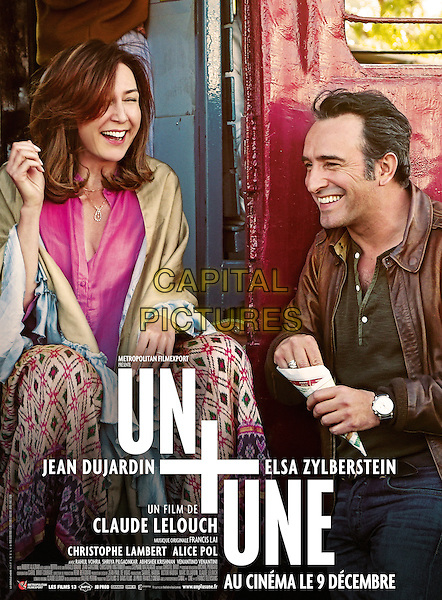 Un plus une (2015) <br /> POSTER ART<br /> *Filmstill - Editorial Use Only*<br /> CAP/KFS<br /> Image supplied by Capital Pictures