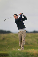 Adam Hanley (Royal Dublin)<br /> during R1 of the East of Ireland Amateur Open championship 2013 at Co Louth Golf club, 1/6/13<br /> Picture:  Thos Caffrey / www.golffile.ie