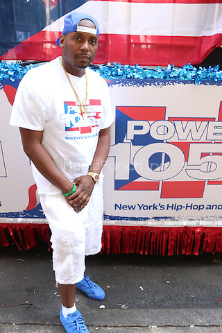 NEW YORK, NY - JUNE 12: DJ Self at The Puerto Rican Day Parade in New York City on June 12, 2016. Photo Credit: Walik Goshorn/Media Punch