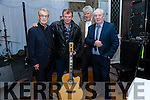 Oliver Ross, Jimmy Ross, Francie Conway, Simon Ross at the Troubadour night on Friday at the Rose Hotel part of the Christie Hennessy Weekend