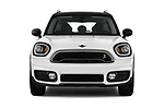 Car photography straight front view of a 2018 Mini Countryman S 5 Door Hatchback
