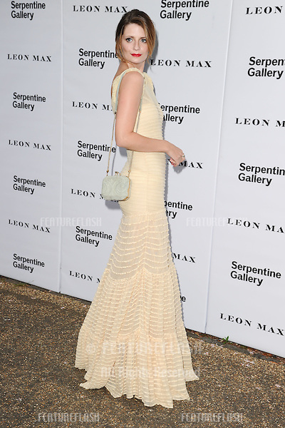 Mischa Barton arriving for the Serpentine Gallery Summer Party 2012, Hyde Park, London. 26/06/2012 Picture by: Steve Vas / Featureflash