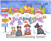 Kate, CHRISTMAS SANTA, SNOWMAN, WEIHNACHTSMÄNNER, SCHNEEMÄNNER, PAPÁ NOEL, MUÑECOS DE NIEVE, paintings+++++Christmas page 63,GBKM185,#x#
