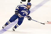 Adam McKenzie (Air Force - 6) - The Yale University Bulldogs defeated the Air Force Academy Falcons 2-1 (OT) in their East Regional Semi-Final matchup on Friday, March 25, 2011, at Webster Bank Arena at Harbor Yard in Bridgeport, Connecticut.