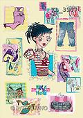 Interlitho, Nino, TEENAGERS, paintings, teenager, clothes(KL3907,#J#) Jugendliche, jóvenes, illustrations, pinturas ,everyday