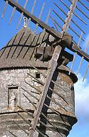 Europe/France/Pays de la Loire/44/Loire Atlantique/Env de Guérande: ancien moulin à vent