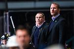 Stockholm 2014-01-18 Ishockey SHL AIK - F&auml;rjestads BK :  <br /> AIK:s tr&auml;nare Rikard Franz&eacute;n <br /> (Foto: Kenta J&ouml;nsson) Nyckelord:  portr&auml;tt portrait