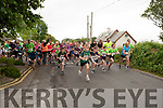 Start of the Kilmoyley 5k/10 road race on Sunday morning.