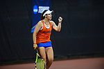 ATHENS, GA - MAY 23: Brooke Austin of the University of Florida celebrates against Stanford University during the Division I Women's Tennis Championship held at the Dan Magill Tennis Complex on the University of Georgia campus on May 23, 2017 in Athens, Georgia. (Photo by Steve Nowland/NCAA Photos via Getty Images)