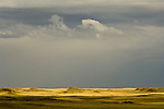 Clouds from passing thunderstorm, Thunder Basin National Grassland, Wyoming