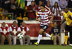 11 September 2012: Herculez Gomez (USA). The United States Men's National Team defeated the Jamaica Men's National Team 1-0 at Columbus Crew Stadium in Columbus, Ohio in a CONCACAF Third Round World Cup Qualifying match for the FIFA 2014 Brazil World Cup.