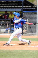 Esmerkin Gonzalez participates in the Dominican Prospect League 2014 Louisville Slugger Tournament at the New York Yankees academy in Boca Chica, Dominican Republic on January 20-21, 2014 (Bill Mitchell)