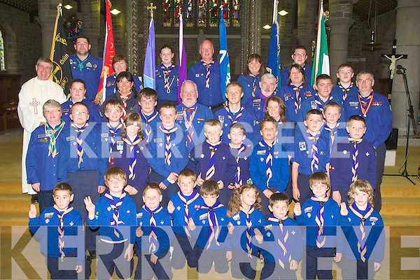 SCOUTS: Scouts from Ist Kerry Scouts Group, Tralee held an 80th Anniversary Mass in St John's church Tralee on Sunday.1929-2009....